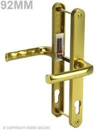 upvc door handles lever lever d64 gold