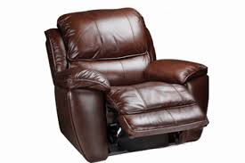 leather rocking recliner in brown for cool home furniture ideas