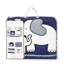 light blue elephant baby bedding designs