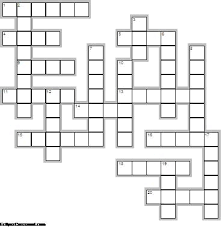 Modern Crossword Templates Adornment - Example Resume Ideas ...