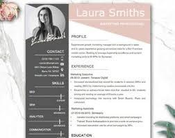 Resume Modern Design Resume Design Etsy