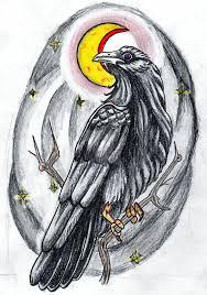 Old School Crow Tattoo Flash By Neonpaledead On Deviantart