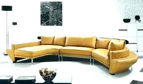 mustard yellow leather sectional faux furniture sofa er sofas mid home improvement glamorous