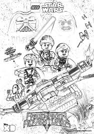 Small Picture LEGO Star Wars Coloring Pages The Freemaker Adventures The