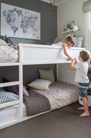 canwood whistler junior loft bed white val home