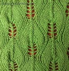 Leaf Knitting Pattern Inspiration Pattern Central Birch