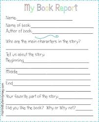 Book Report Template 5th Grade Book Report Template Allthingsproperty Info