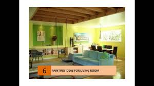 Painting The Living Room Living Room Paint Color Design Ideas Youtube