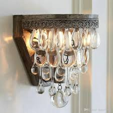 wall lantern indoor. Vintage Crystal Wall Lamp Indoor Sconce Led Mirror Bed Lights Christmas Decorations For Home Bedroom Bathroom Dining Room Chandelier Lantern