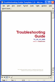 Style Guide Template Word Troubleshooting Guide Template 5 Ways To Improve Style And Format