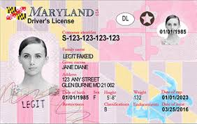 Cards Id Scannable Maryland Legitfakeid Ids Fake