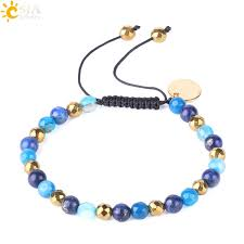 2018 Csja Wholesale Women Bracelets <b>Lapis Lazuli</b> Natural ...