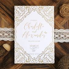 Ornate Elegance Elegant Laser Cut Wedding Invitations De