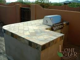 outdoor kitchen countertop material kitchen material