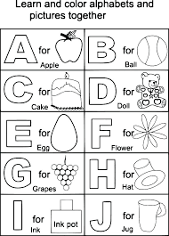 Letters Coloring Sheets Alphabet Coloring Pages A Capital Letter