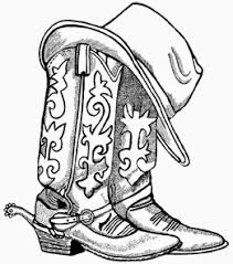fashion boots drawing. cowboy boots and hat drawing hd shoe clip art fashion