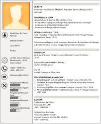 Dapatkan Contoh Resume boleh diedit disini