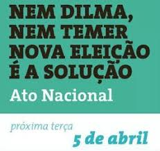 Resultado de imagem para Nem Dilma nem Temer