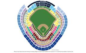 Notre Dame Stadium Detailed Seating Chart Notre Dame Yankee Stadium Seating Chart New Yankee Stadium