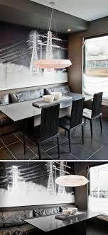 Esszimmer Sitzbank Mit Rückenlehne Gute Idee Für Die Offene Küche