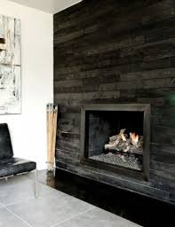 fireplace feature without a mantle. and you could use the palet wall  treatment to do it.