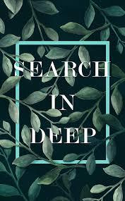 Search In Deep - Ivy Tsai