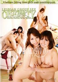 Lesbian Group Sex Orgy Party DVD Oriental Dream
