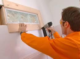 attach trim to wall