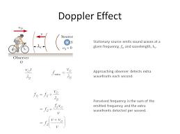 4 doppler effect stationary source