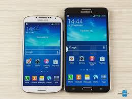 Samsung Galaxy S4 Comparison Chart Samsung Galaxy Note 3 Vs Samsung Galaxy S4 Phonearena