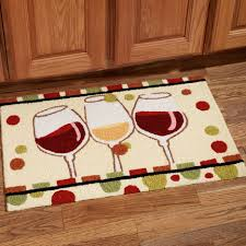 Kitchen Mats For Wood Floors Kitchen Beautiful Kitchen Rug Decorating Ideas With White Glass