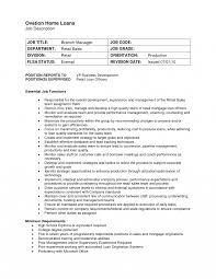 Job Description Title Branchr Retail Sales Salary Template In Cv