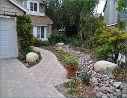 river rock for landscaping blocks