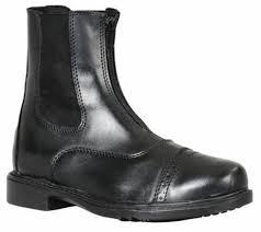 Tuffrider Starter Zip Paddock Boots Size 4 5 Ebay