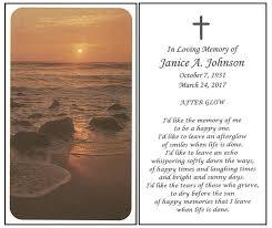 Funeral Prayer Cards Buy Online Prayer Cards Memorial Card Express