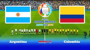 PES 2021 - Argentina vs Colombia - Copa ...