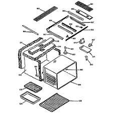 ge electric range parts model jsp69wvww sears partsdirect maintop