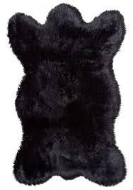 Faux Bearskin Rug Faux Bear Rug With Head Roselawnlutheran