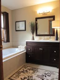 bathroom modern white. Bathroom, Modern White Basin Dark Grey Tile And Painting Wall Combination Wood Cabinet With Drawer Bathroom