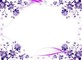 purple flower border clipart borders and frames purple clip art