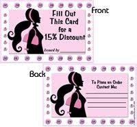 Discount Punch Card 15 Discount Punch Card