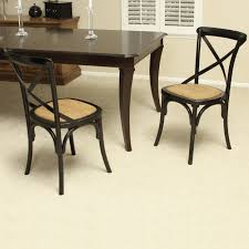 Black Kitchen Chairs Black Birch Wood Cross Back Dining Chair By Christopher Knight