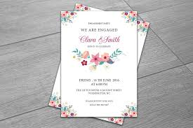 Engagement Invites Templates Free Engagement Party Invitation Template Invitation Templates 6