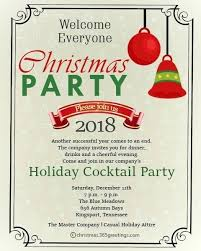 Christmas Wording Samples Office Christmas Party Invitation Wording Invitations For Party