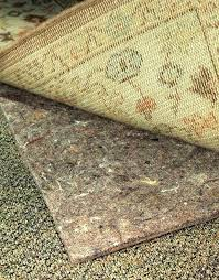 non slip rug pad no muv rug pads from rugpadcornercom non staining rug pad for vinyl