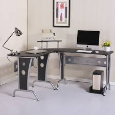 space saving home office. HOMCOM 65\ Space Saving Home Office L