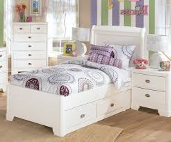 kids twin beds with storage. Kids Twin Bed With Storage Crossed Accent Side Panel Gray Color Drawer Long White Stained Solid Beds
