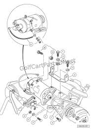 wiring diagram for club car starter generator the wiring diagram starter generator mounting turf carryall 2 252 2xrt 6 and wiring