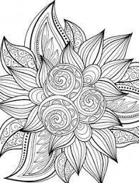 Small Picture To print this free coloring page coloring adult flower with many