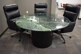 office table round. Brilliant Office Office Furniture Connection Green Marble Round Conference Table Intended